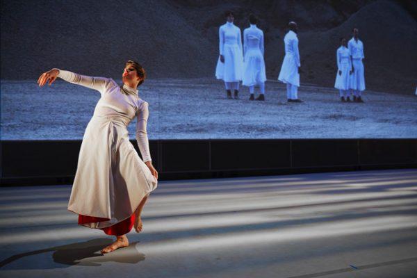 Kristen Bell of Margaret Jenkins Dance Company - by Tom Kubik
