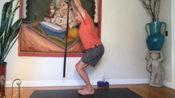 Iyengar Flow with Strap 3
