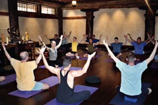 Men and Yoga : From Shiva to Swenson